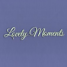 Lovely Moments - T0928 Cardboard