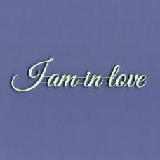 I am in love -T0929 Cardboard