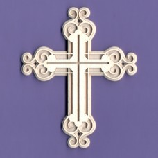 Crucifix 02 - 0967 Cardboard