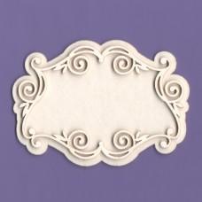 Rose frame - 0973 Cardboard