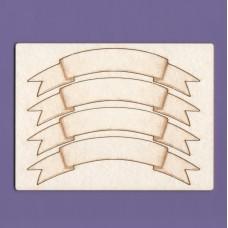 Sash base x 4 - 0975B Cardboard