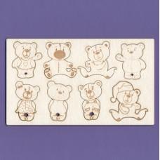 Bears thornberrys - 0982 Cardboard