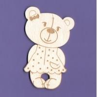 Tola bear - 0983 Cardboard