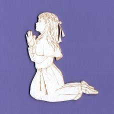 Communion girl - 0988 Cardboard