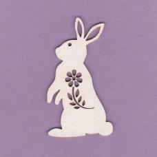 Easter bunny 2 pcs - 0176 Cardboard