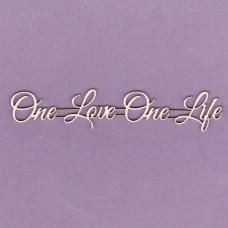 One love one life - T0221 Cardboard