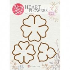 Rosy Owl Dies - Heart Flowers