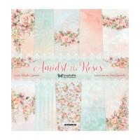 ScrapAndMe - Amidst The Roses - 12x12 Paper Set