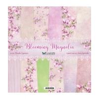 ScrapandMe - Blooming Magnolia - 12 x 12 Paper Set