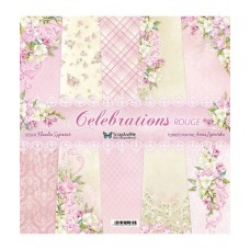 ScrapAndMe - Celebrations Rouge - 12x12 Paper Set