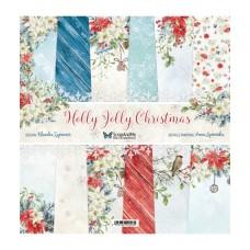 ScrapAndMe - Holly Jolly Christmas - 12 x 12 Paper Set
