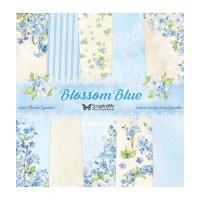 ScrapAndMe - Blossom Blue - 12x12 Paper Set