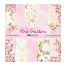 ScrapAndMe - Pink Blossom - 12x12 Paper Set