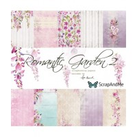 ScrapAndMe - Romantic Garden Part2 - 12x12 Paper Set
