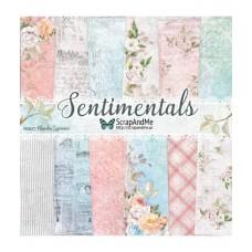 ScrapAndMe - Sentimentals - 12x12 Paper Set