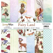 ScrapBoys - Fairy Land - 12x12 Paper Set