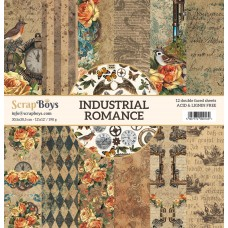 ScrapBoys - Industrial Romance- 12x12 Paper Set