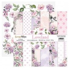 ScrapBoys - Loveland- 12x12 Paper Set
