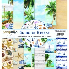 ScrapBoys - Summer Breeze - 12x12 Paper Set