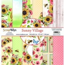 ScrapBoys - Sunny Village - 12x12 Paper Set