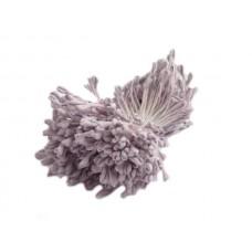 Matt stamens - Hearts - Dark Violet