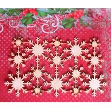 Snowflakes 03 set - 0322 Cardboard