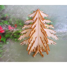 Christmas tree - 0345 Cardboard