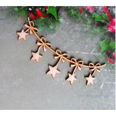 Christmas stars - 1304 Cardboard