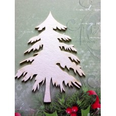 Christmas tree small - 0369M Cardboard