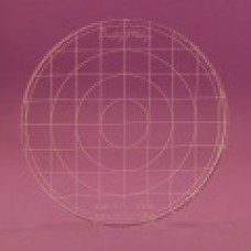 Acrylic grid block 85 round - TBDS-85 Block