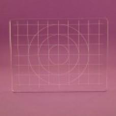 Acrylic grid block 95x72 - BDS-2/1 Block