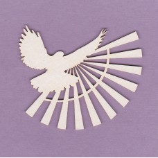 Dove with rays 01 - 0259 Cardboard