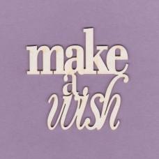 Make a wish - T0611 Cardboard