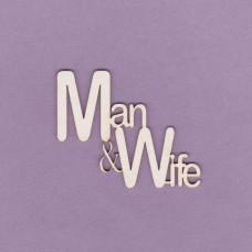 Man & Wife - 0612 Cardboard