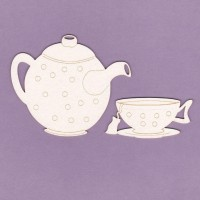 Afternoon tea small - 0694M Cardboard