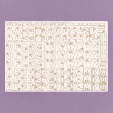 Letters - 0705 Cardboard