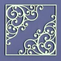Adeline frame 02 - 0845A Cardboard
