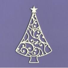 Christmas tree - 1114 Cardboard